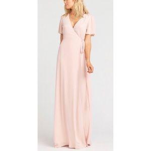 show me your mumu noelle flutter sleeve dress
